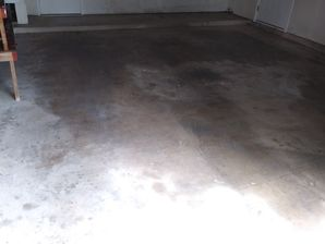 Before During & After Driveway & Garage Pressure Washed in Hutto, TX (4)