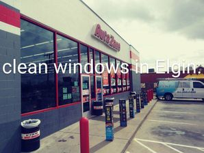 Window Cleaning for Auto Zone in Elgin, TX (2)