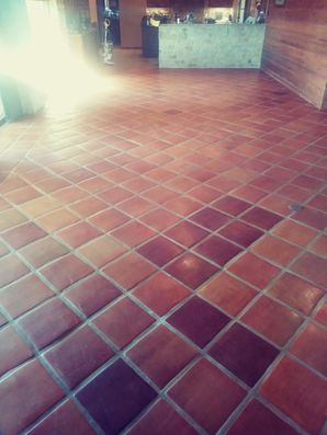 Before & After Tile Cleaning, Elgin TX. (1)
