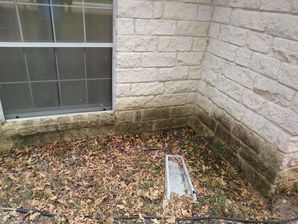 Before & After Concrete Wall in Elgin, TX (1)
