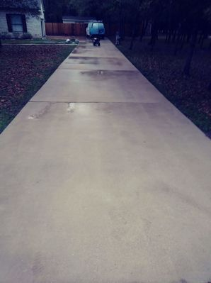 Before & After Power Washing in Elgin, TX (4)