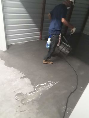 Commercial Concrete and Wall Cleaning in Cedar Creek, TX (2)