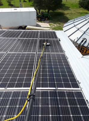 Solar Panel Cleaning in Elgin, TX (2)