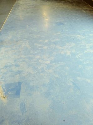 Before & After Floor Refinishing in  Mcdade, Texas (2)